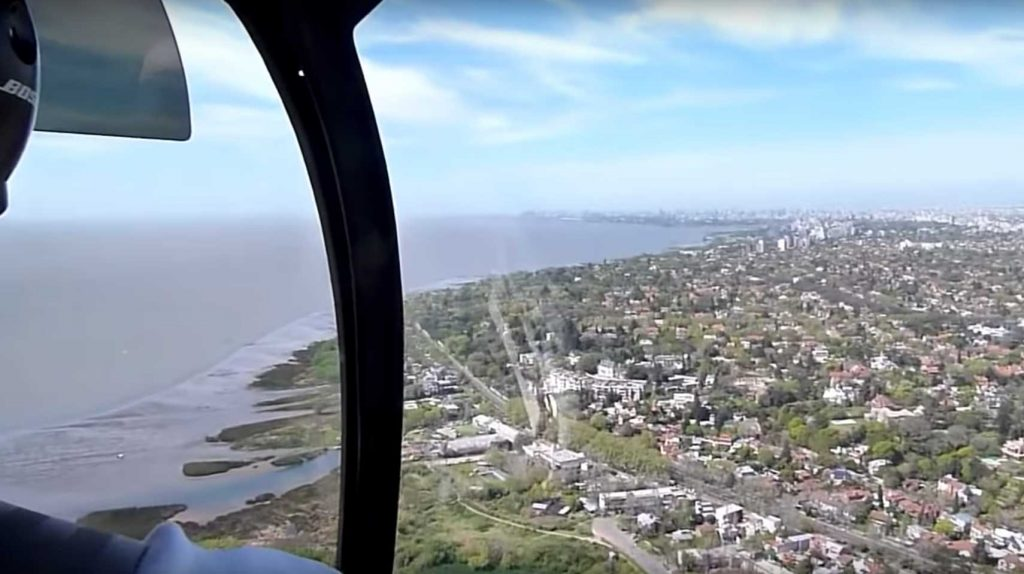 Buenos Aires by Helicopter